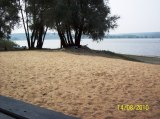 Пляж Интуриста днем